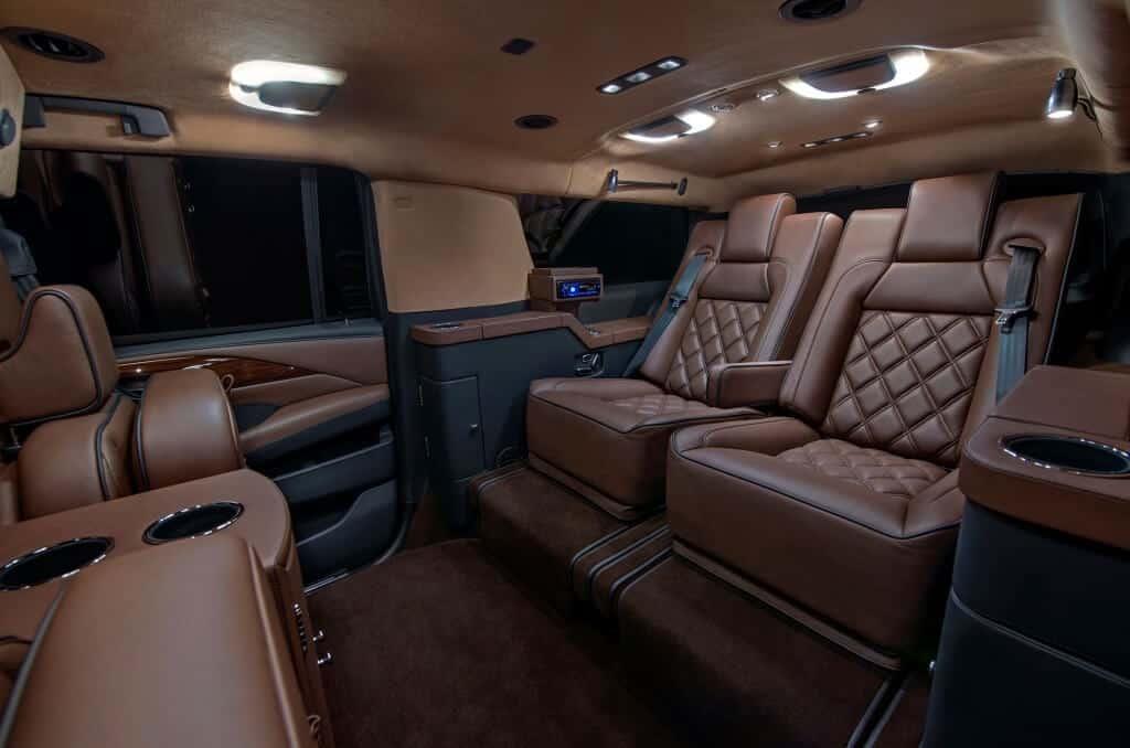 Interior Cadillac Escalade ESV