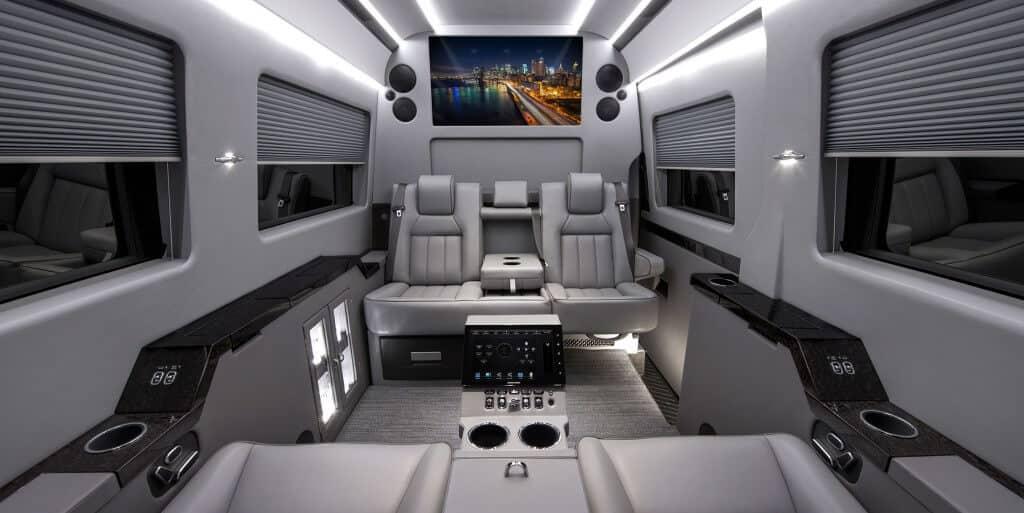 Interior 1 Mercedes Benz Sprinter