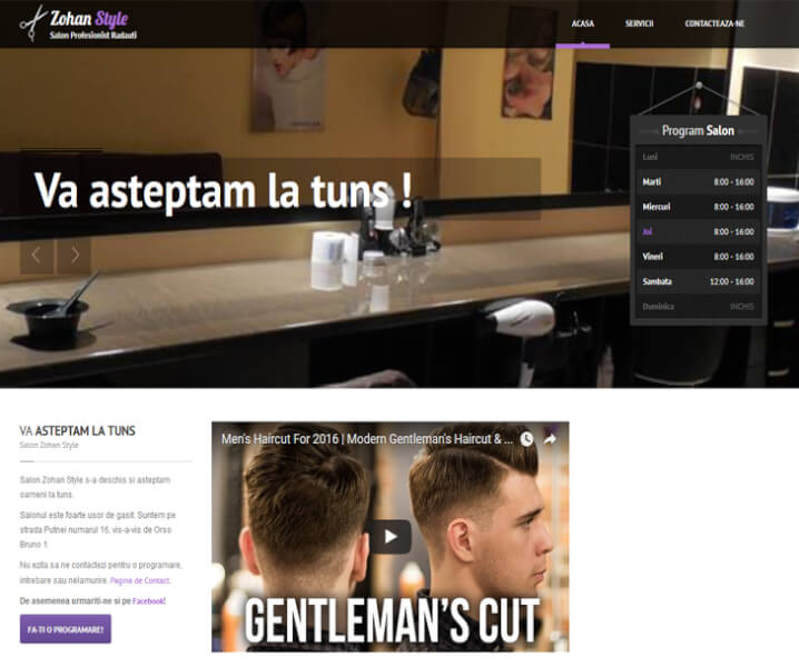 website zohan style