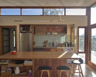 Interior casa din lemn