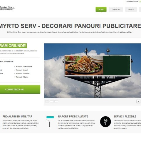 MyrtoServ Website