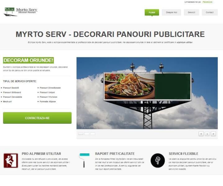 MyrtoServ Website