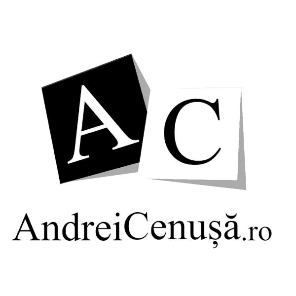 Logo patrat Andrei Cenusa.ro