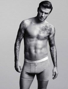 Lenjeria intima David Beckham