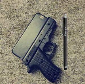Pistol Husa iPhone