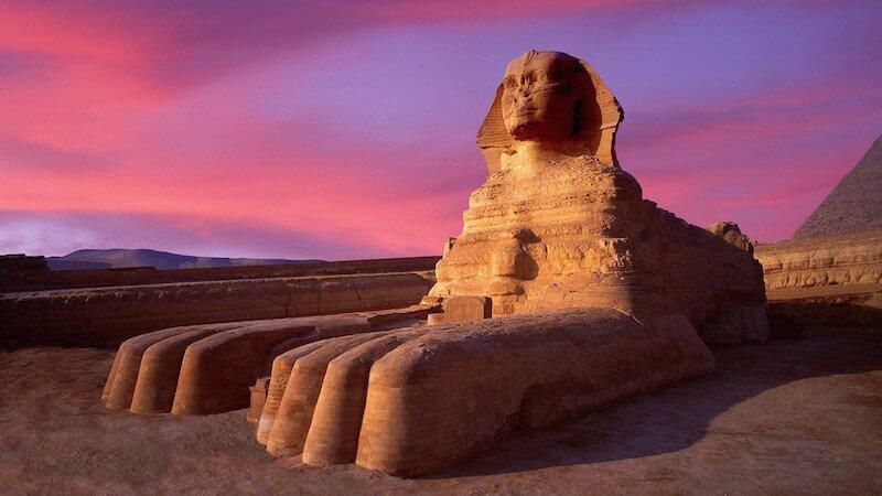 Marele Sfinx din Giza