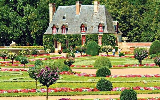 Gradina din Franta