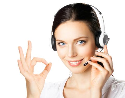 Femeie Callcenter