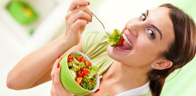 femeie vegetarian