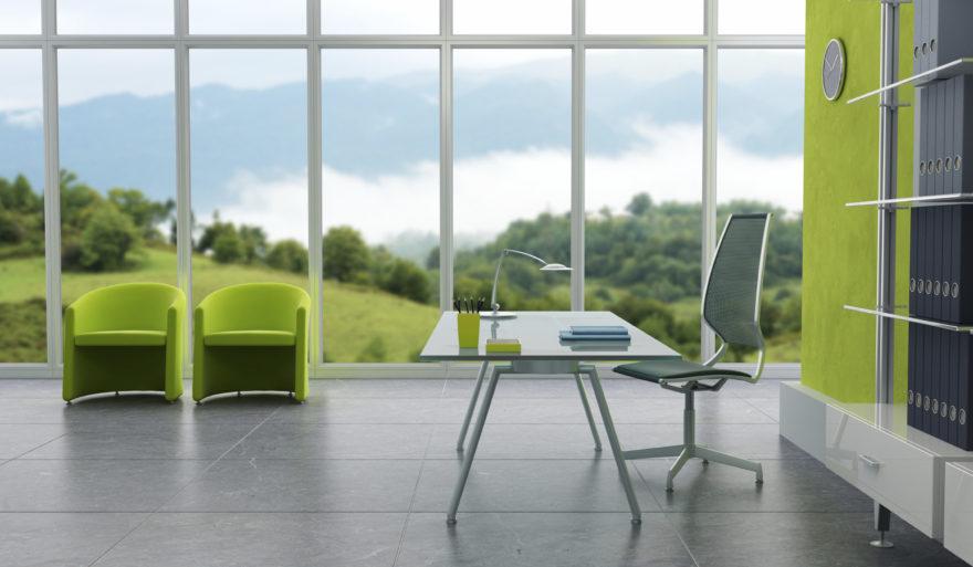 Interior de birou modern
