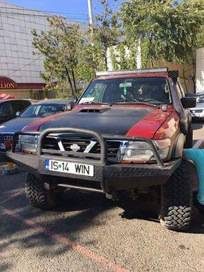 patrol-y61-rosu-4x4-in-bucovina