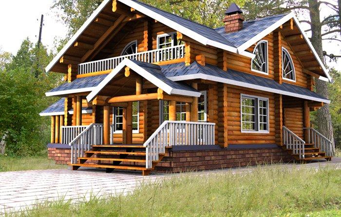 Casa din lemn - Mobina