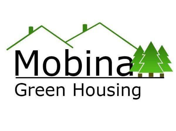 Logo Mobina - Case din Lemn