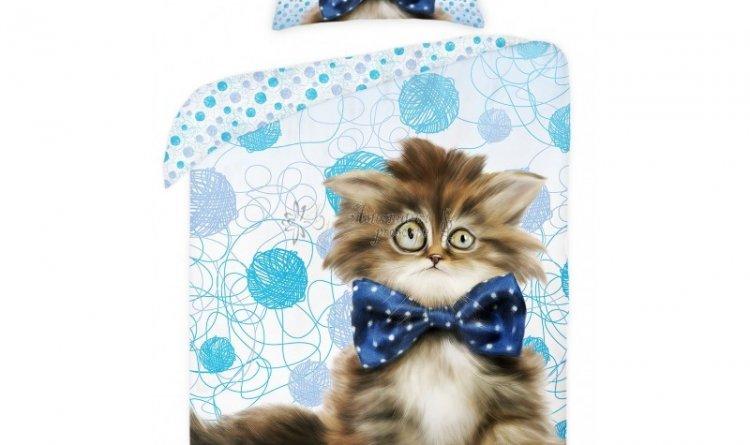 Lenjerie de pat pisica