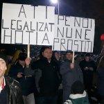 Protestul continuă la Suceava