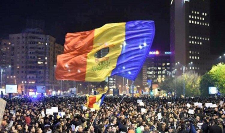 Protest legea gratierii Romania