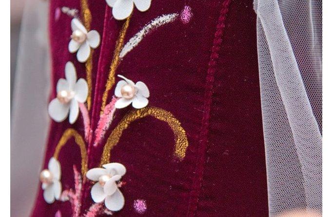 material rochita printesa radu elena atelier