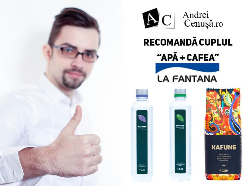 Andrei Cenusa Recomanda la Fantana