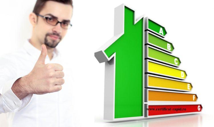 Certificat Energetic recomandat
