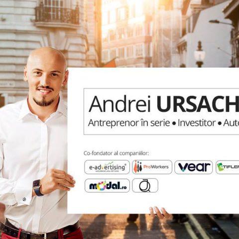 Andrei Ursachi Antreprenor in Serie