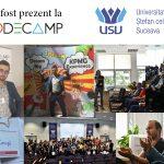Am fost prezent la prima ediție de Codecamp în Suceava