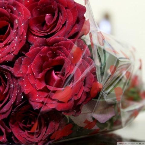 Buchet de trandafiri rosii