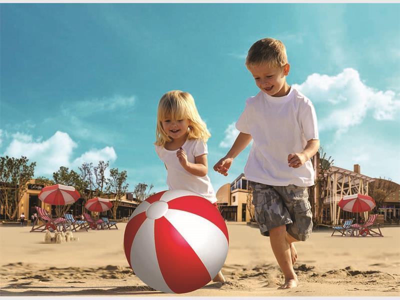 Copii la plaja