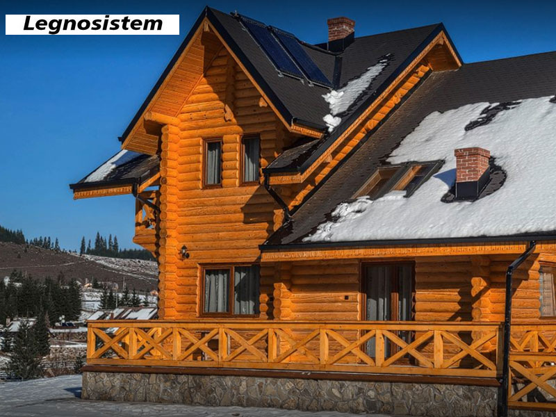 Legnosistem - Constructii case din lemn rotund Suceava
