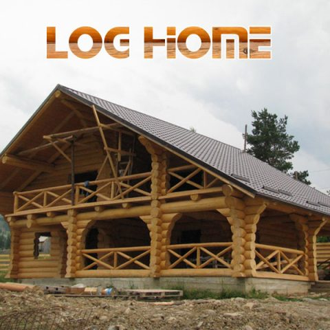 Loghome - Case din busteni Suceava