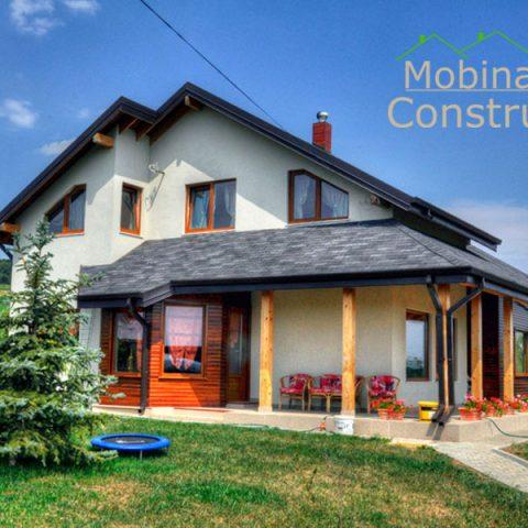 Mobina Construct - constructii case din lemn Suceava