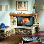 Șemineul tip centrală – elementul estetic și decorativ care îți încălzește locuința la nivel maxim!