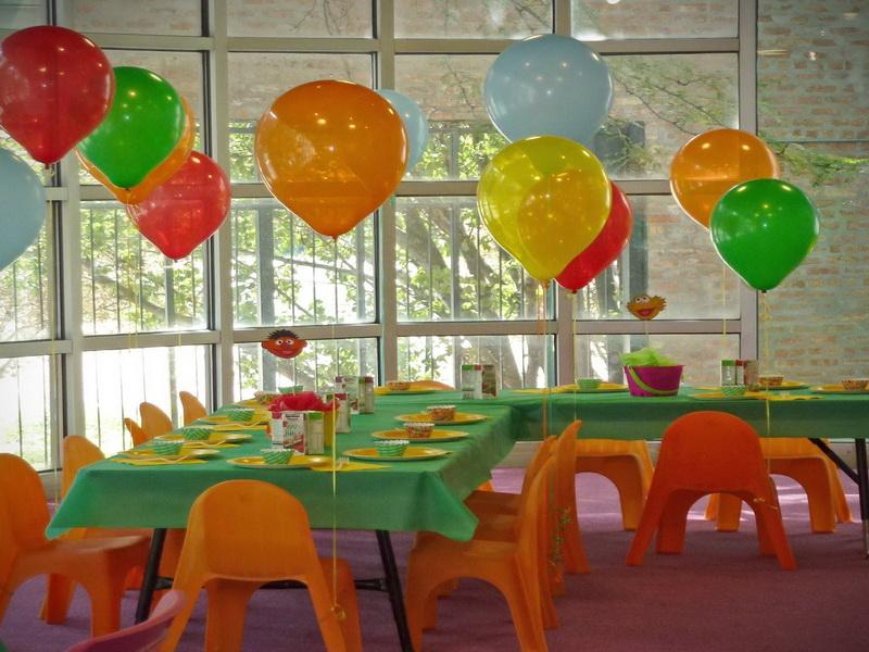 petrecere cu baloane cu heliu