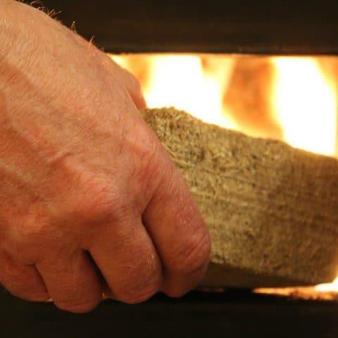 arderea brichetelor