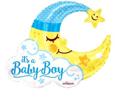 Baloane baby boy