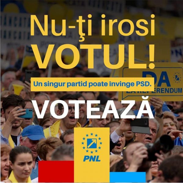 Voteaza PNL