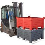 Producator cutii depozitare plastic ajuta comerciantii sa dea produse utile in loc de rest